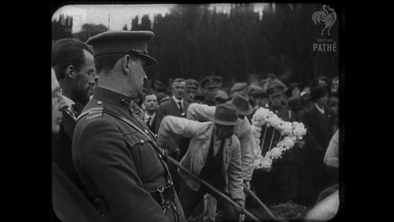 Генерал Майкл Коллинз. Последняя кинохроника (1922)