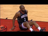 Chris Paul leg injury / Rockets vs GS Warriors Game 5