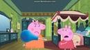 Свинка Пеппа мультфильм - Пеппа беременная, Мама Свинка доктор делает ей укол и .