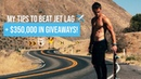 MY HACKS TO BEAT BLOATING/JET LAG $350K in Giveaways!