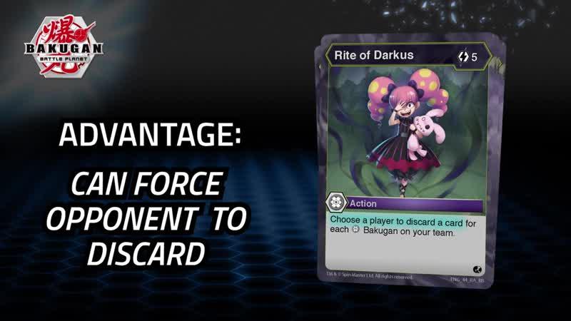 Bakugan Battle Planet | Faction Focus | Darkus