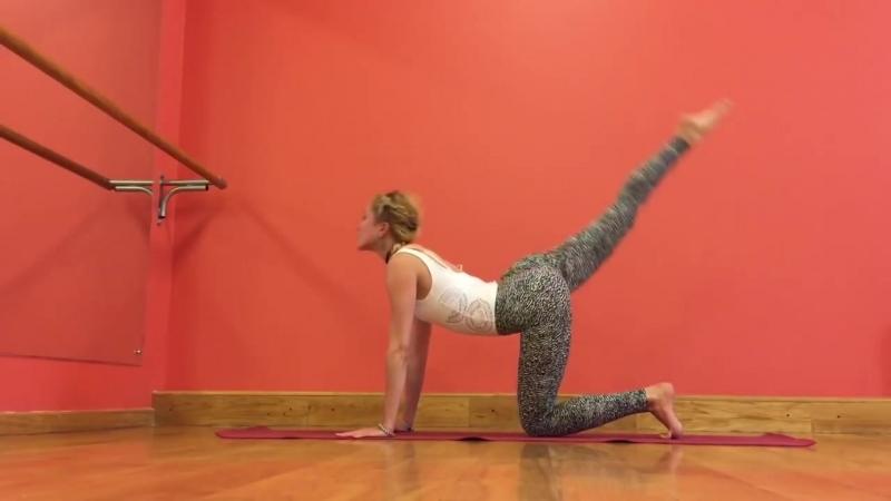 Активный комплекс по йоге на 30 мин. Виньяса-Флоу.