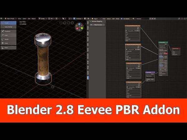 Blender 2.8 Eevee PBR Addon