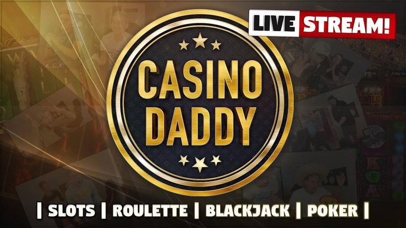 CasinoDaddy Live Stream! - Casino Games - Write !nosticky1 4 in chat for the best casino bonuses!