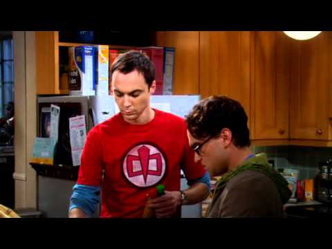 The Big Bang Theory - 204 - Sheldon asks about Lenard about his chicken brocoli request