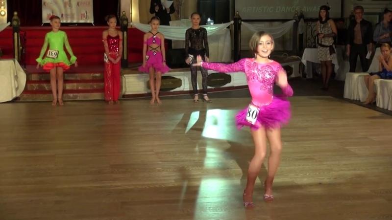 Titkina Alexandra (Salsa) Artistic Dance Awards 2013