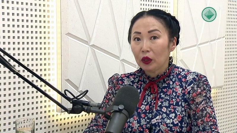 Студия 102,4 FM Руководитель Центра занятости населения Мирнинского района Туйара Брызгалова