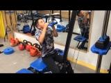 Групповая тренировка у детей. Тренировка мышц спины.