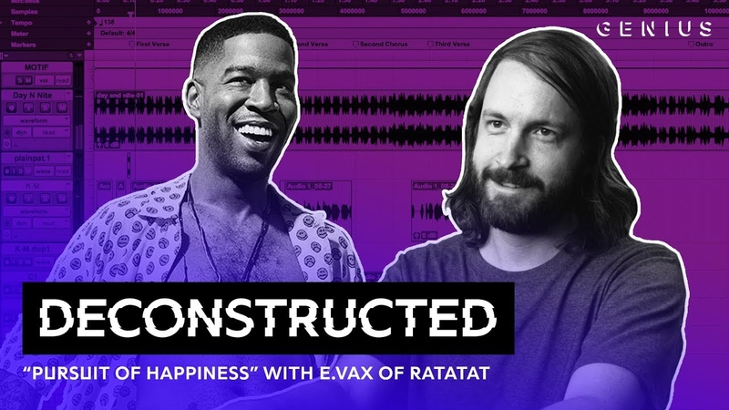 "The Making Of Kid Cudi's Pursuit Of Happiness"" With Of Ratatat Deconstructed"