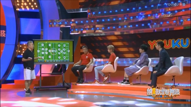 [VIDEO] 180614 Luhan Full Cut @ Youku FIFA World Cup Russia 2018 Live