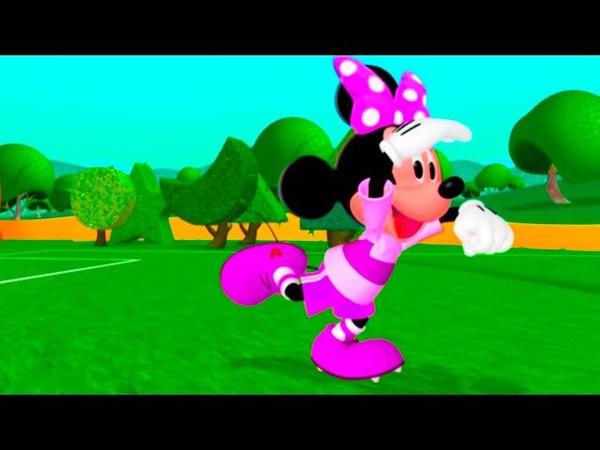 Клуб Микки Мауса - Зарядка - все серии подряд - смотри и делай зарядку с Микки!