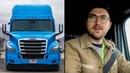 I rode a semi autonomous truck at CES 2019