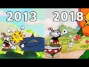 Evolution Of Cuphead Game 2013 - 2018