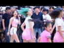 180708 MOMOLAND[Fancam Nancy] - BBoom BBoom @ Guerrilla Performance Event at Bundang AK Plaza
