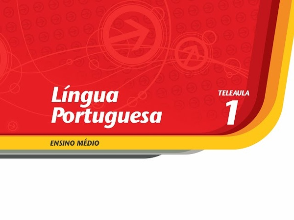 01 - Esta língua tem história - Língua Portuguesa - Ens. Médio - Telecurso