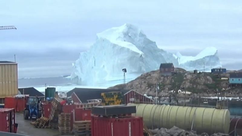 Угроза цунами в Гренландии