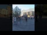 Tango open air in Tyumen (22.07.18 площадь 400-летия)
