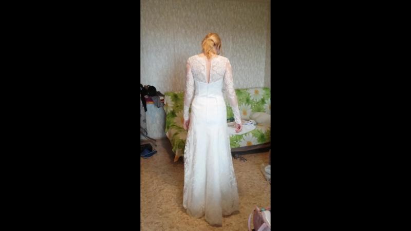 Ангелинка (примерка платья)