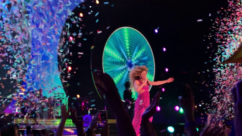 Shakira live @ Amsterdam - La Bicicleta (Finale) - 09.06.2018 - El Dorado World Tour