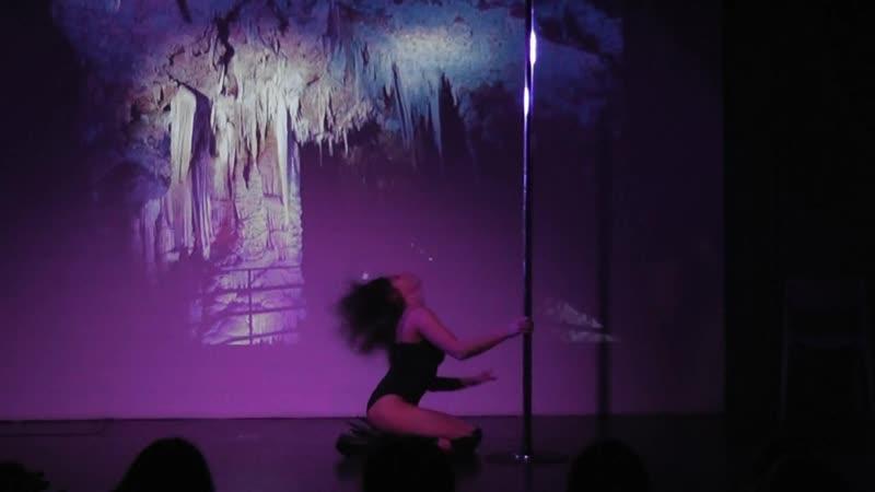 Романова Екатерина отчетный концерт Butterfly exotic pole dance