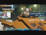 Overwatch Покатушки на Лайтушке ! #overwatch #овервотч #blizzard #cybersport