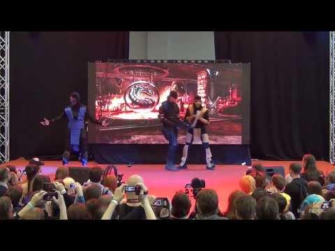 AVA Expo 2013 ДЕНЬ ВТОРОЙ (27.10.2013) - Oрден Nanaschi Kaidan - Mortal Kombat