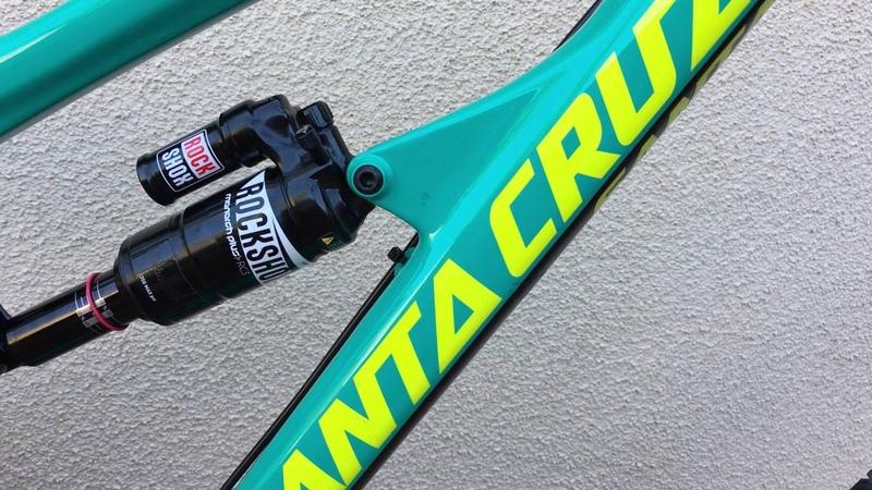2016 Santa Cruz Nomad Emerald Green ENVE