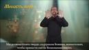 24.Толкование и разбор литургии. Милость мира жестовый язык, озвучка, субтитры