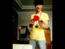 Here is a video of pre debut Kun performing magic