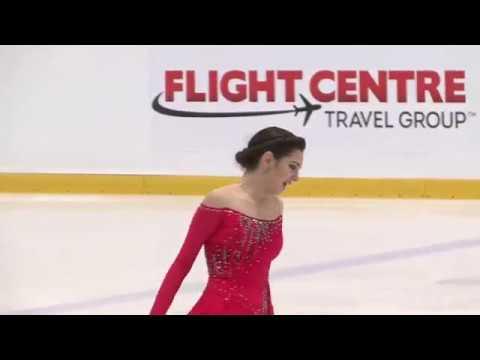 Evgenia MEDVEDEVA RUS Free Skate Autumn Classic International 2018