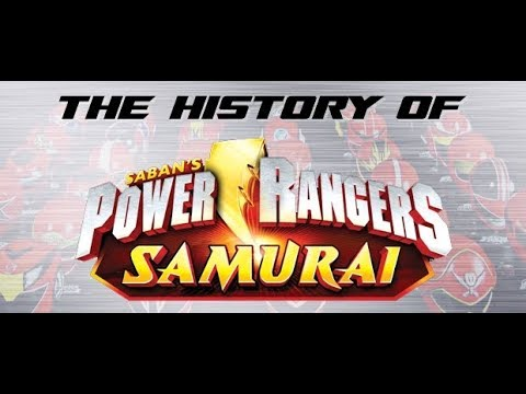 Power Rangers Samurai Part 1 REUPLOAD History of Power Rangers