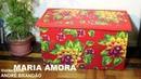 Bau / Banco forte de papelão - Cardboard trunk / stool - Arca / Stool de cartón