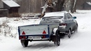 Первый снег на Иже без люльки