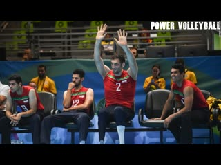 246 cm tall volleyball player morteza mehrzad (hd)