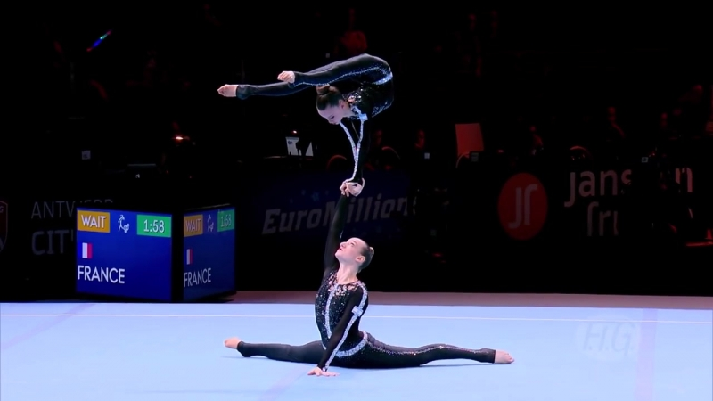 2018 Acrobatic Worlds – Israel, Women's Pair Qualifications
