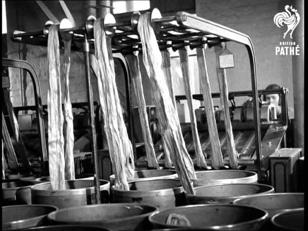 Spinning Flax (1940-1949)