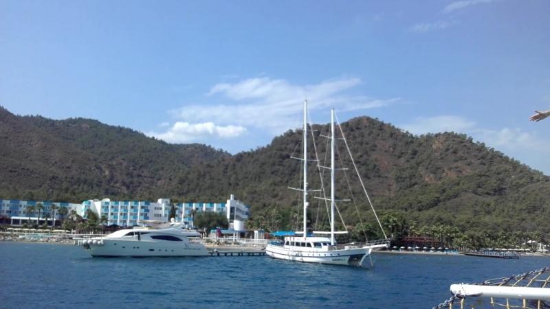 Возвращение в отель с прогулки по Эгейским островам