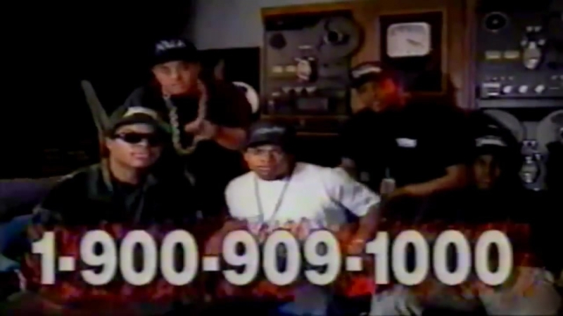 N.W.A. - 1-900-909-1000 Hotline (1988 Commercial)