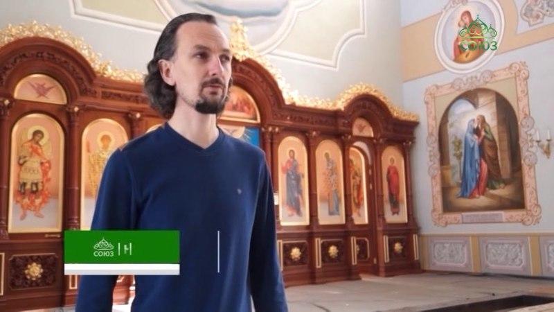 Пермской храм Рождества Пресвятой Богородицы украсился сценами из Евангелия