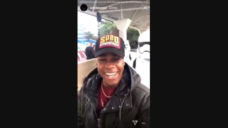 John Boyega arrested at Disneyland