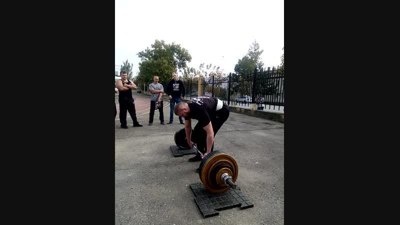 Становая тяга 180 кг (1,5 собственных веса) на 24 раза в рамках турнира ДУх Силы г.Темрюк