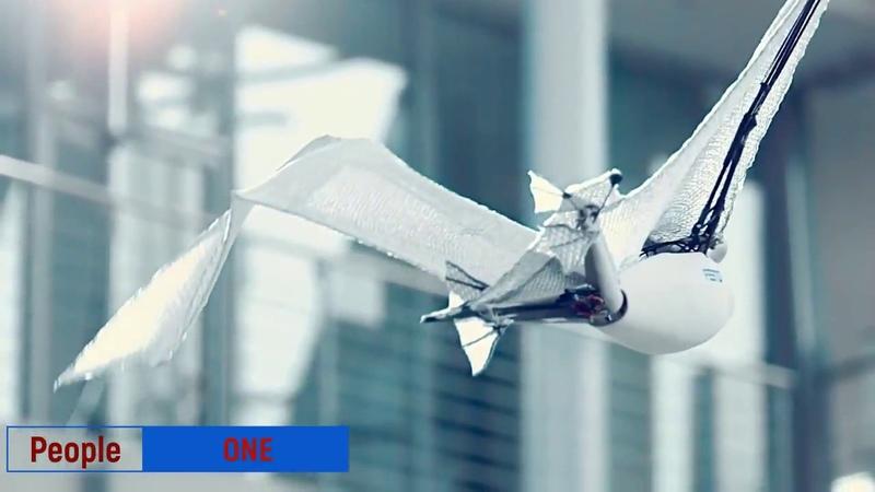 Робот-летучая лисица порхает, как живая. BionicFlyingFox - новый летающий робот от компании Festo