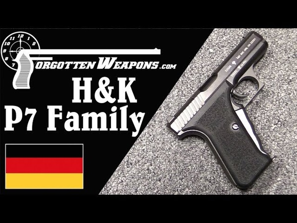 HK P7 Family: Pistols for Gun Cognoscenti