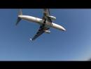 На дамбе у аэропорта Корфу