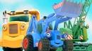 Развивающие мультики про машинки. Синий Трактор и его друзья!