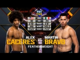 The Ultimate Fighter 27 — FINALE Alex Caceres vs. Martin Bravo