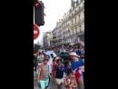 Франция бурно отмечает победу на ЧМ 2018