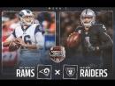 NFL 2018-2019 | Regular season | Week 1 | Los Angeles Rams vs Oakland Raiders | (ENG)