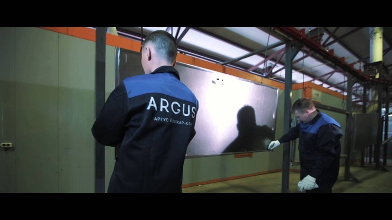 Стальные двери Аргус Фильм о производстве