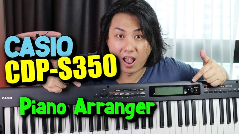 NEW 2019 CASIO CDP-S350 🔴 88-Keys Arranger Piano Keyboard Review